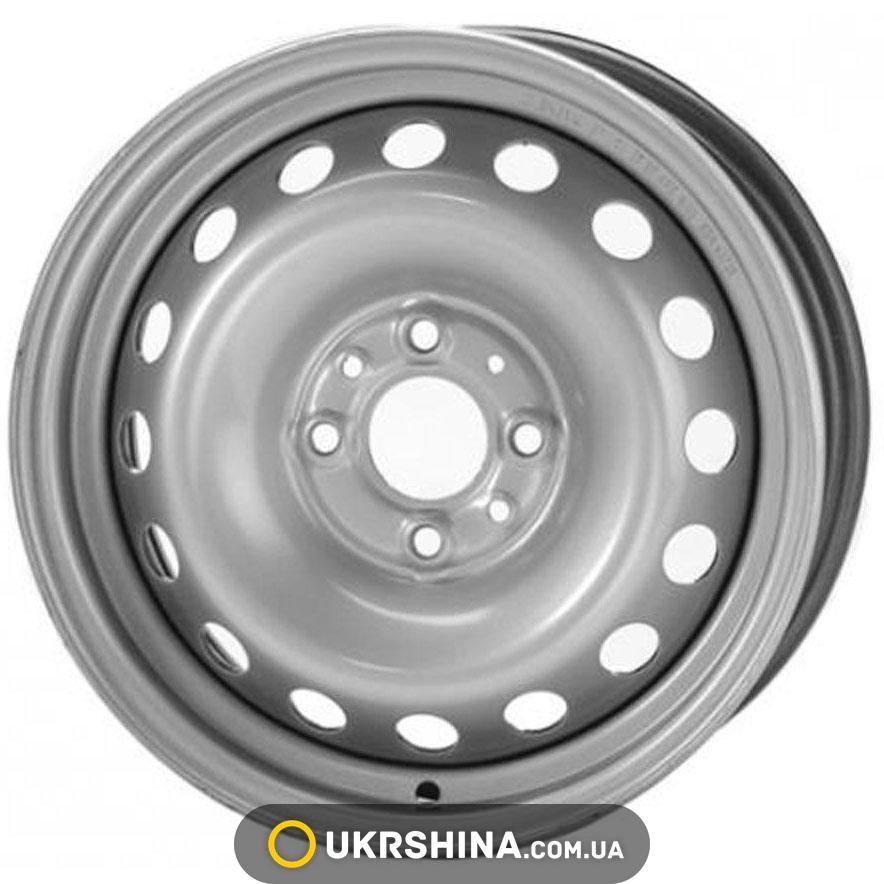 Стальные диски Кременчуг ВАЗ 2103 W5 R13 PCD4x98 ET29 DIA60.5 Gray