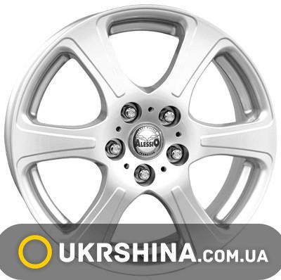 Литые диски Alessio Lady W5.5 R14 PCD4x114.3 ET38 silver