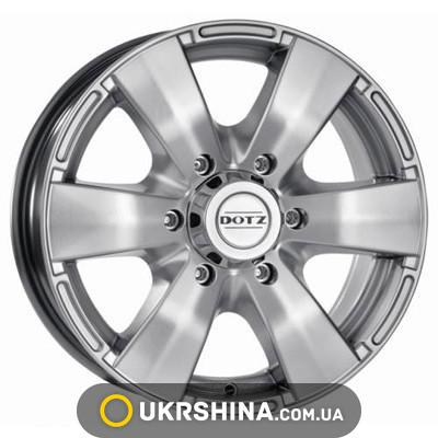 Литые диски Dotz Luxor W7 R16 PCD5x139.7 ET40 DIA59.6 silver