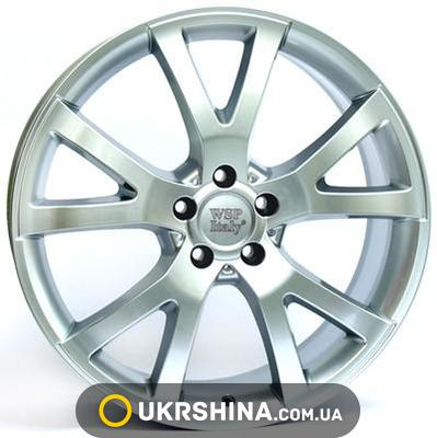 Литые диски WSP Italy Mercedes (W750) Yalta W10 R22 PCD5x112 ET60 DIA66.6 silver