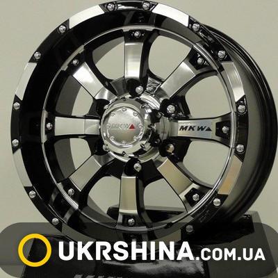 Литые диски Mi-tech MK-46 W8 R17 PCD6x139.7 ET25 DIA106.1 AM/B
