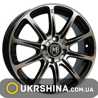 Литые диски Marcello MR-01 W6.5 R16 PCD5x114.3 ET38 DIA73.1 AM/B