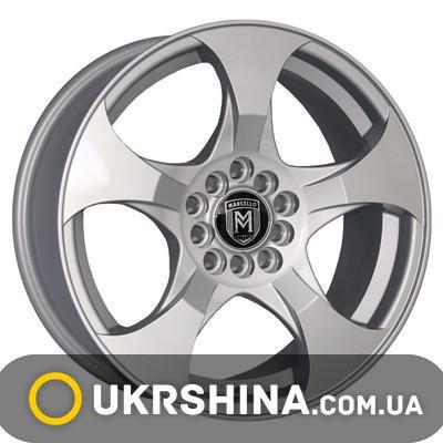 Литые диски Marcello MR-34 silver W7 R16 PCD5x100 ET38