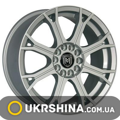 Литые диски Marcello MR-35 W7 R16 PCD5x100 ET38 DIA73.1 silver