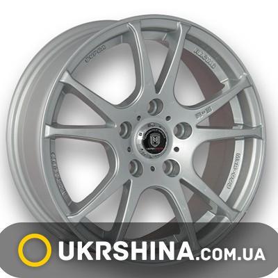 Литые диски Marcello MSR-003 silver W6.5 R15 PCD5x100 ET38 DIA73.1