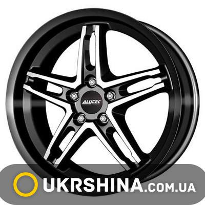 Литые диски Alutec Poison Cup W8 R18 PCD5x114.3 ET40 DIA70.1 diamond black front polished