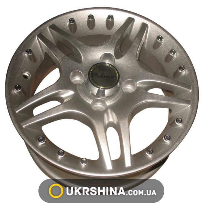 Литые диски Primo A111 W5.5 R13 PCD4x100 ET35 DIA67.1 silver
