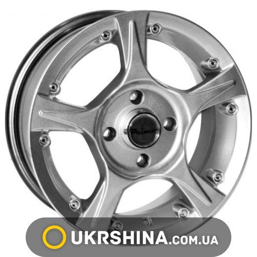 Литые диски Primo A182 W5.5 R13 PCD4x100 ET35 DIA67.1 hyper silver