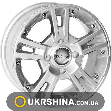 Литые диски Primo A267 W5.5 R13 PCD4x100 ET38 DIA67.1 silver