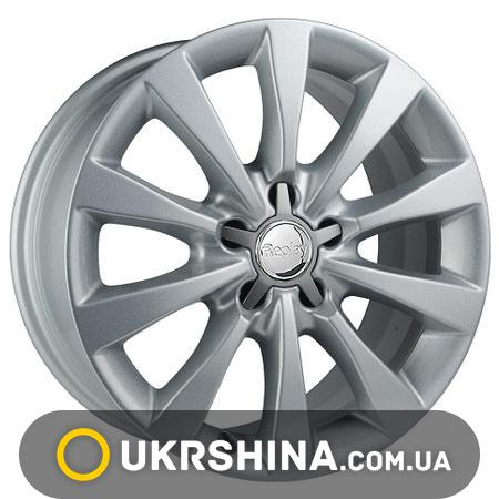 Литые диски Replay Audi (A97) W8 R17 PCD5x112 ET39 DIA66.6 silver