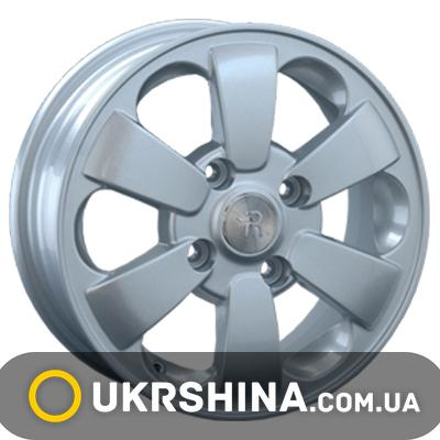 Литые диски Replay Daewoo (DW4) W5.5 R14 PCD4x100 ET49 DIA56.6 silver