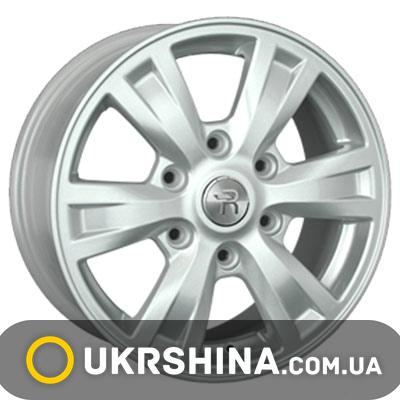 Литые диски Replay Ford (FD101) W7 R16 PCD6x139.7 ET55 DIA93.1 silver