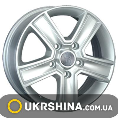 Литые диски Replay Fiat (FT16) W6.5 R16 PCD5x130 ET60 DIA78.1 silver