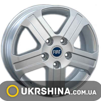 Литые диски Replay Fiat (FT18) W6 R16 PCD5x130 ET68 DIA78.1 silver