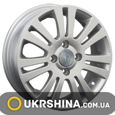 Литые диски Replay Chevrolet (GN13) W6 R15 PCD4x114.3 ET44 DIA56.6 silver