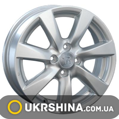 Литые диски Replay Chevrolet (GN45) W6 R15 PCD4x100 ET39 DIA56.6 silver