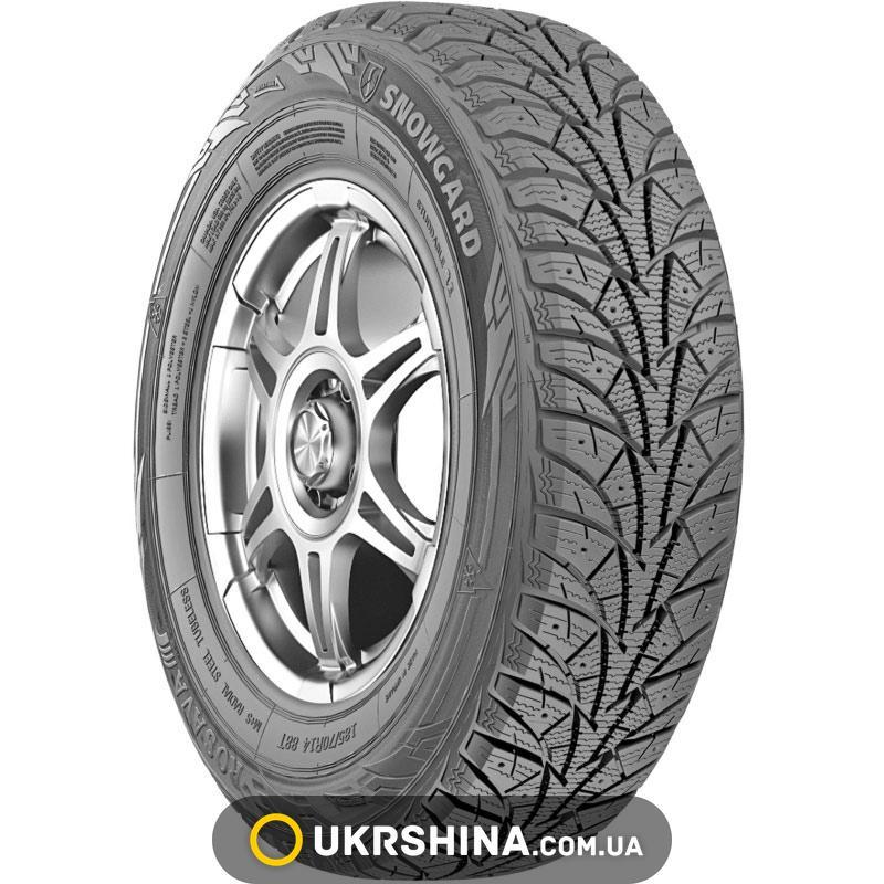 Зимние шины Росава Snowgard 185/60 R14 82T (под шип)