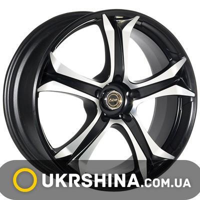 Литые диски Kosei Seneka RX black W7.5 R18 PCD5x112 ET47 DIA73.1