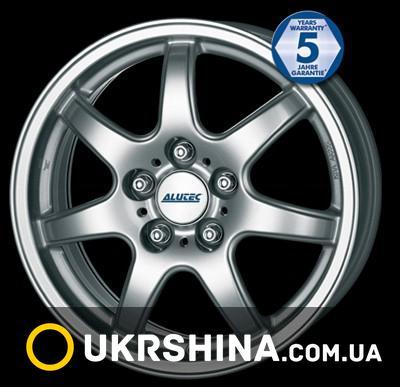 Литые диски Alutec Spyke silver W6 R14 PCD4x114.3 ET38 DIA70.1