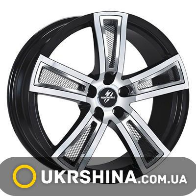 Литые диски Fondmetal Tech 6 black polished W7.5 R17 PCD5x112 ET48 DIA57.1