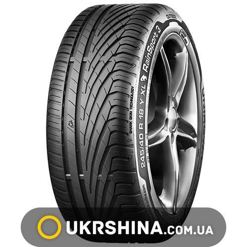Летние шины Uniroyal Rain Sport 3 225/55 R18 98V FR