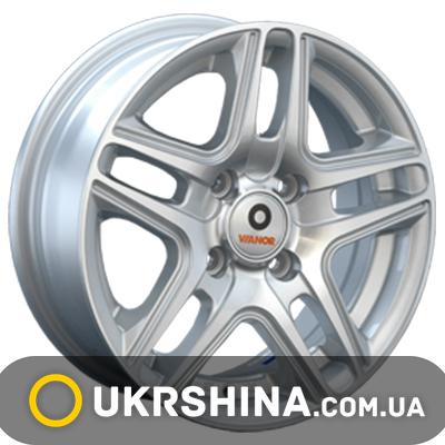 Литые диски Vianor (VR15) W6.5 R15 PCD5x114.3 ET39 DIA60.1 SF