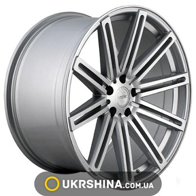 Литые диски Vissol Cast (V-004) W9 R20 PCD5x112 ET32 DIA66.6 silver polished