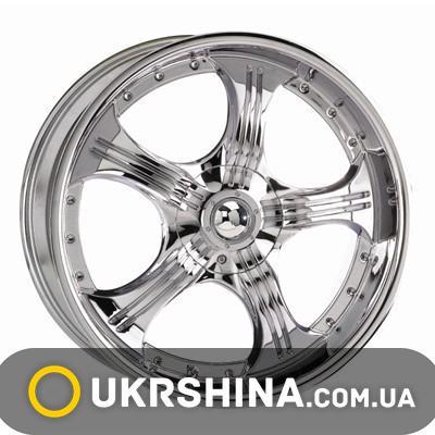 Литые диски Kosei WK 155 chrome W7 R17 PCD5x100 ET35 DIA73.1